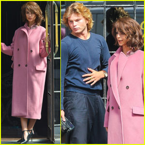 Emily Ratajkowski Channels Jackie Kennedy During Photo Shoot With Jordan Barrett