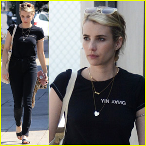 Emma Roberts Is 'So Excited to Be Back' for 'AHS: Apocalypse'