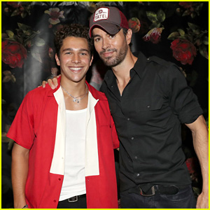 Enrique Iglesias & Austin Mahone Perform at Private Party in Texas!