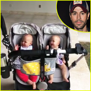 Enrique Iglesias' Twin Babies Can't Stop Laughing in This Adorable Video - Watch Now!