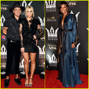 Evan Ross, Ashlee Simpson & Gabrielle Union Step Out for Michael Jackson Diamond Birthday Celebration 2018!