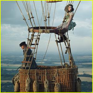 Eddie Redmayne & Felicity Jones Reunite for 'The Aeronauts' - First Look Photo