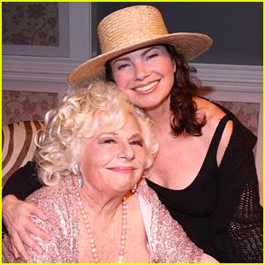 Fran Drescher Reunites with 'The Nanny' Co-Star Renee Taylor!