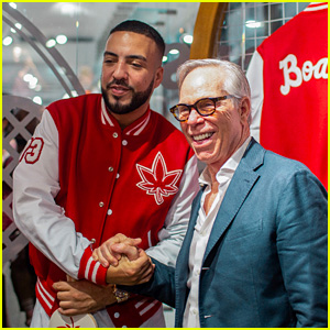 French Montana Plays Ping Pong with Tommy Hilfiger at Boast Launch