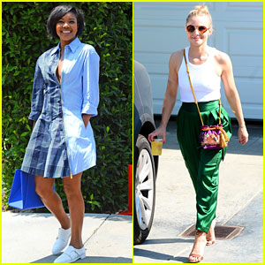 Gabrielle Union & Kristen Bell Enjoy a Day of Indulgence Thanks to Producer Jennifer Klein!