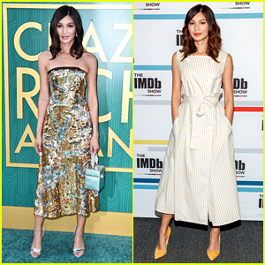 Gemma Chan Purposefully Wore Asian Designers for 'Crazy Rich Asians' Press Tour