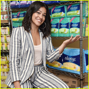 Gina Rodriguez Shares Cute Throwback Photo For a Good Cause!