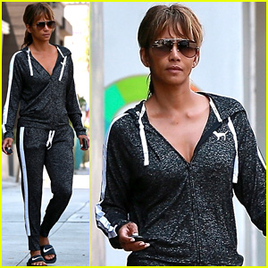 Just Because Halle Berry Is Single, Doesn't Mean She Sleeps Alone!