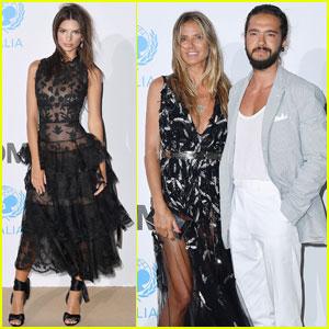 Heidi Klum & Tom Kaulitz Couple Up at Unicef Summer Gala