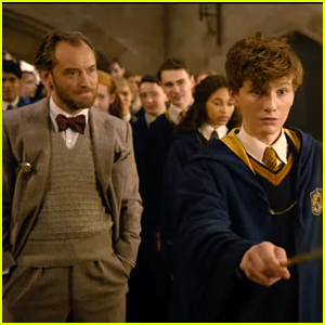 Jude Law Reveals How It Feels To Go Back To Hogwarts in New 'Fantastics Beasts' Featurette