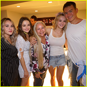 Hunter King Celebrates Engagement to Nico Svoboda at a Surprise Party! (Exclusive Photos)
