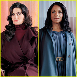 Idina Menzel & Audra McDonald Talk First Stage Shows & Dream Roles (Video)