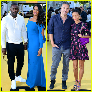Idris Elba Gets Support from Fiancee Sabrina Dhowre & Thandie Newton at 'Yardie' UK Premiere!