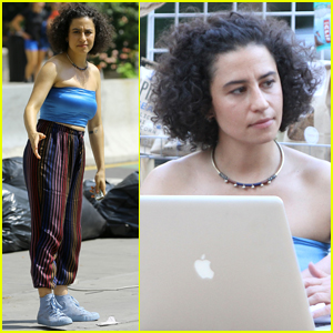 Ilana Glazer Films 'Broad City' Final Season in NYC
