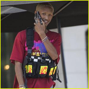 Jaden Smith Sports an Ammo Vest in Calabasas!
