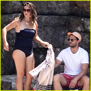 Jamie Dornan & Wife Amelia Enjoy Their Vacation in Italy