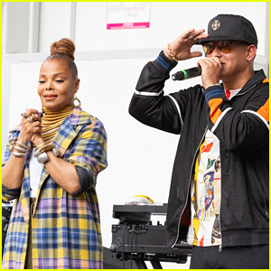 Janet Jackson & Daddy Yankee Attend Harlem Week 2018 Event in NYC!
