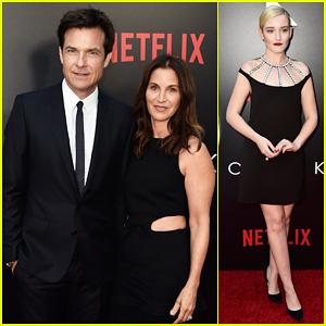 Jason Bateman Gets Support from Wife Amanda Anka at 'Ozark' Season 2 Premiere!