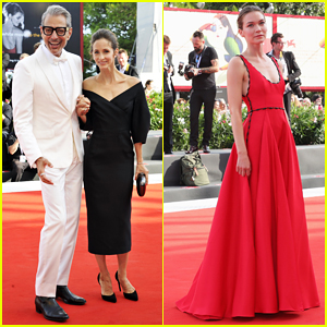Jeff Goldblum Gets Support from Wife Emilie at 'The Mountain' Venice Film Festival Premiere!