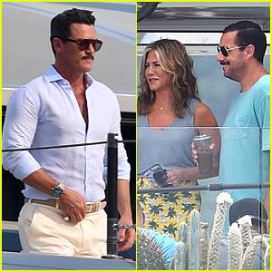 Jennifer Aniston, Adam Sandler, & Luke Evans Film 'Murder