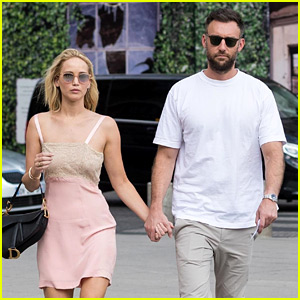 Jennifer Lawrence & Cooke Maroney Hold Hands in Paris
