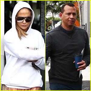 Jennifer Lopez & Alex Rodriguez Kick Off Their Weekend with a Workout!