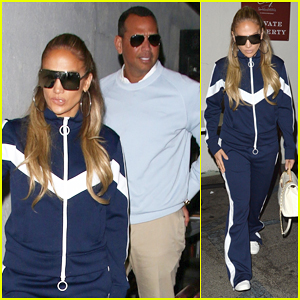 Jennifer Lopez & Alex Rodriguez Step Out for WeHo Date Night!
