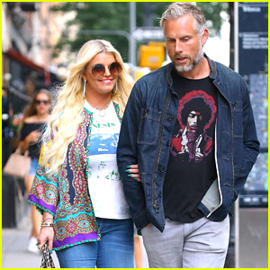 Jessica Simpson Steps Out With Husband Eric Johnson in NYC!