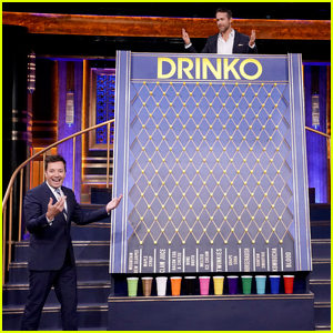 Jimmy Fallon Vomits with Ryan Reynolds in 'Tonight Show' Drinking Game - Watch Here!