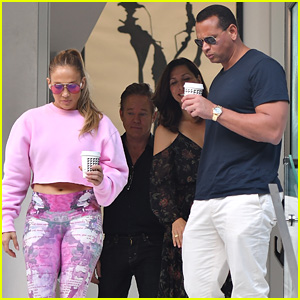 Jennifer Lopez & Alex Rodriguez Go House Hunting in LA!