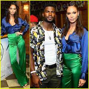 Joan Smalls & Broderick Hunter Buddy Up for National Rum Day!