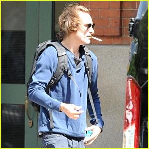 Joaquin Phoenix Looks Noticeably Thinner Ahead of 'Joker' Filming