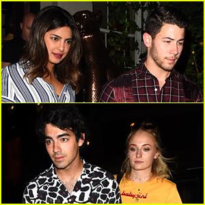Joe Jonas & Sophie Turner Welcome Priyanka Chopra to the Family!