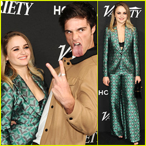 'Kissing Booth' Couple Joey King & Jacob Elordi Are Too Cute Together at Variety Event!