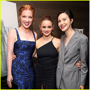 Joey King, Julia Goldani Telles, & Annalise Basso Attend 'Slender Man' Special Screening!