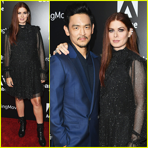 John Cho & Debra Messing Team Up for 'Searching' Hollywood Screening!