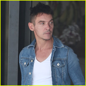Jonathan Rhys Meyers Steps Out for a Hair Cut in Calabasas