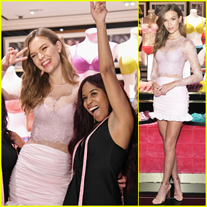 Josephine Skriver Launches New Body By Victoria Collection in NYC!