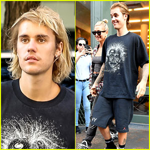 Justin Bieber Gets a Haircut with Hailey Baldwin By His Side!