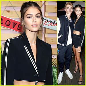 Kaia Gerber Launches New Fashion Collection KarlxKaia With Chic Party