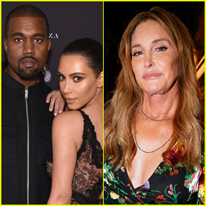 Kanye West Shares Text Exchange with Caitlyn Jenner Amid Her Feud with Kim Kardashian