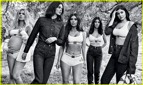Khloe Kardashian Models for Calvin Klein While 8 Months Pregnant - See All the Kardashian/Jenner Campaign Photos!