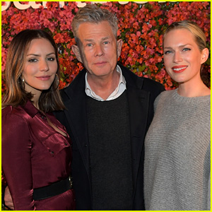 Katharine McPhee Jokes She's Shipping David Foster's Daughters Off to Switzerland
