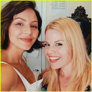 Katharine McPhee Gets Another Visit from Megan Hilty at 'Waitress' on Broadway!