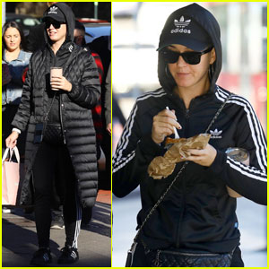 Katy Perry Bundles Up to Get a Bite to Eat in Sydney!
