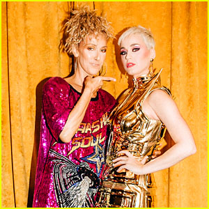 Katy Perry & Celine Dion Meet Backstage at Katy's Concert In Australia!