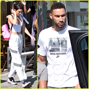 Kendall Jenner & Ben Simmons Couple Up at WeHo Cafe
