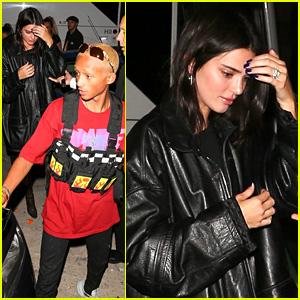 Kendall Jenner & Jaden Smith Celebrate Their Friend's Birthday