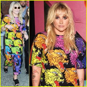 Kesha Celebrates 'Rainbow - The FIlm' at Special Fan Screening!