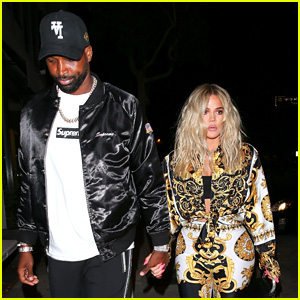 Khloe Kardashian Joins Tristan Thompson for Friday Dinner Date